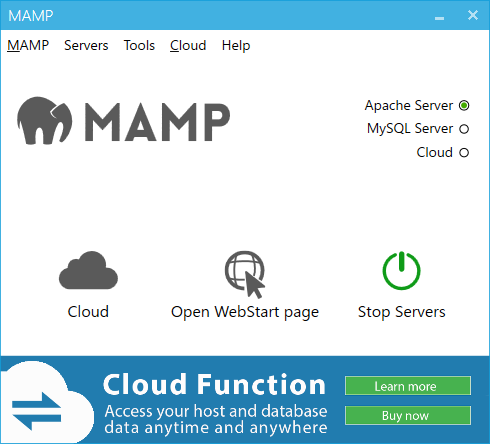 MAMP(MySQL)